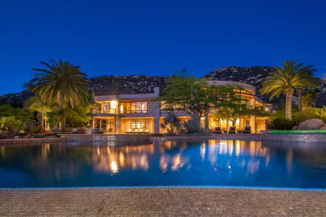 Davis Residence mediterranean-exterior
