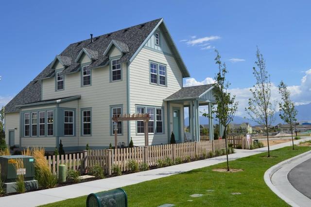 Daybreak model home for Rainey homes