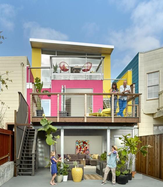 De Haro House contemporary-exterior