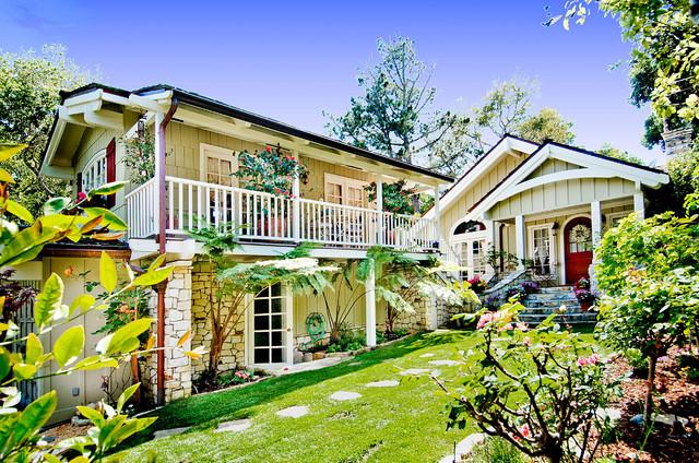 Debra Campbell Design traditional-exterior