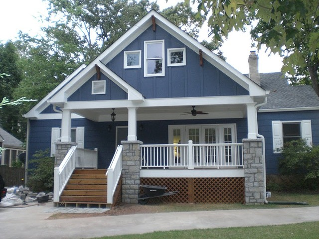 Decatur Cottage Front Porch Addition