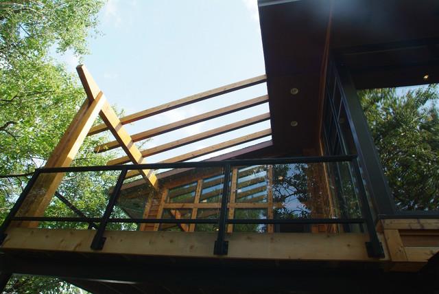 SUBURBAN LOFT contemporary-exterior