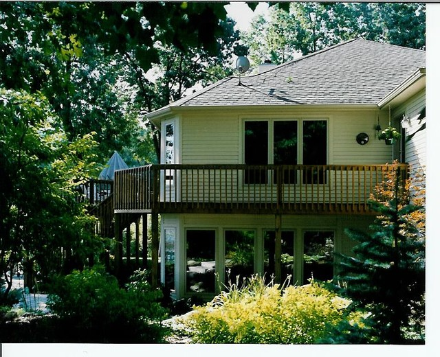 Deck Project Traditional Exterior Grand Rapids By Dehaan Remodeling Specialists Inc