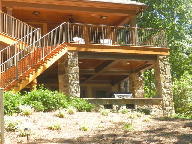 Deck Transformation (Waterproofing) traditional-exterior
