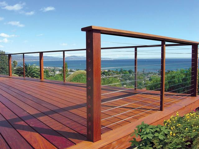 Decks with a view contemporain fa ade san francisco for Www feeneyinc com