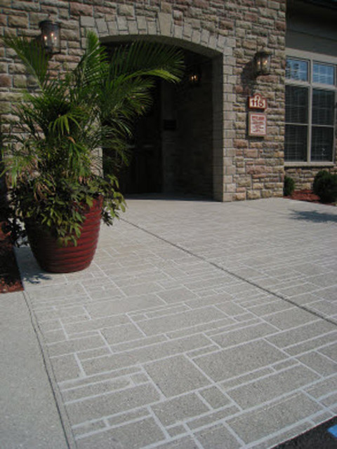 decorative concrete exterior other metro by all