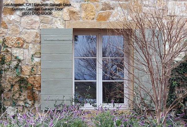 Decorative Rustic Shutters In A Tuscan Style Design Mediterranean Exterior Los Angeles