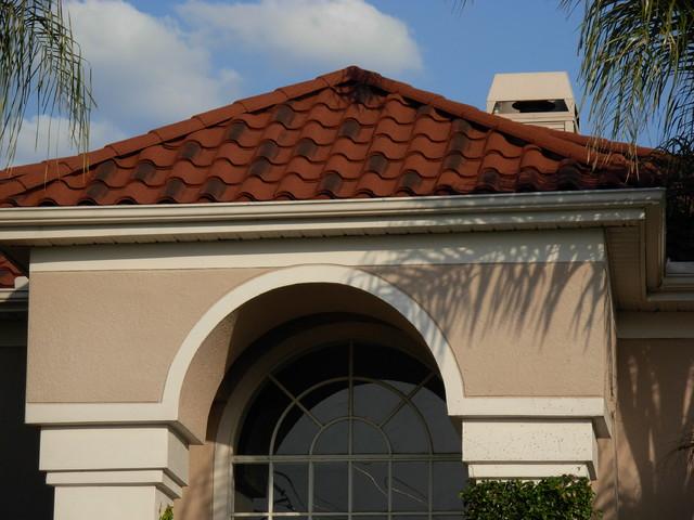 Decra Villa Tile Series Rustico Clay
