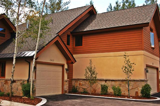 Deer Lake Village Park City Utah Rustic Exterior