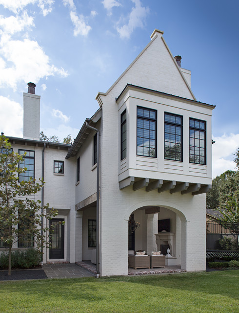 Deerwood Traditional Exterior Houston By Cusimano