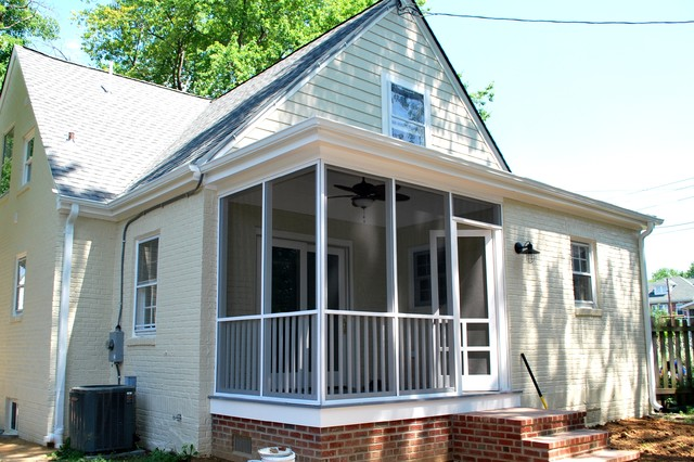 Del Ray Cape Cod Renovation Traditional Exterior Dc