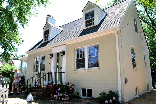 Del Ray Cape Cod Renovationtraditional Exterior Dc Metro