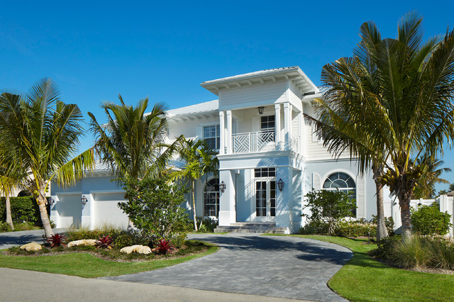 Delray Beach Key West Style Tropical Exterior Miami