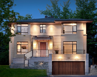 Denbury Contemporary Exterior Ottawa By Roca Homes