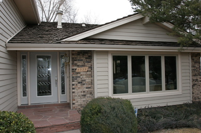 New Windows traditional-exterior