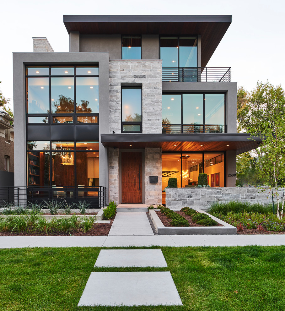 Modern Home Design Ideas Gray: Denver Modern Home