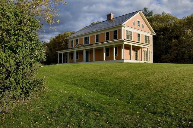 Derby Hill Farm Lyme NH traditional-exterior