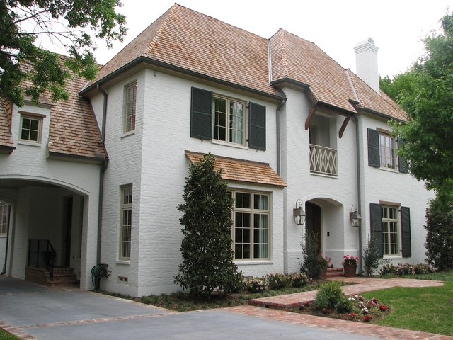 Desco Front Elevation Traditional Exterior Dallas