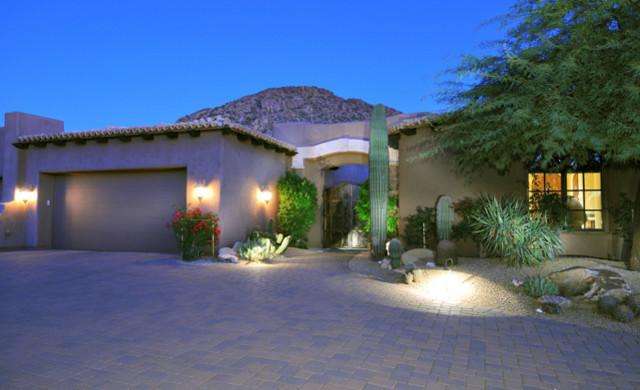 Desert Highlands Lot 434 mediterranean-exterior