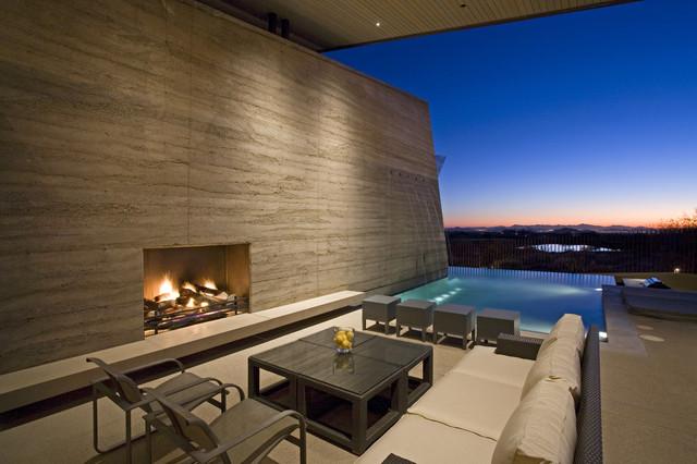 Desert Wing outdoor room contemporary-exterior