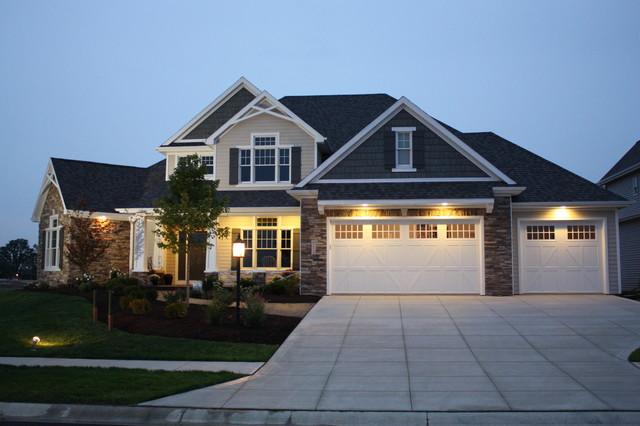 Design 42050 The Flockhart Traditional Exterior Omaha By Design Basics Home Plans