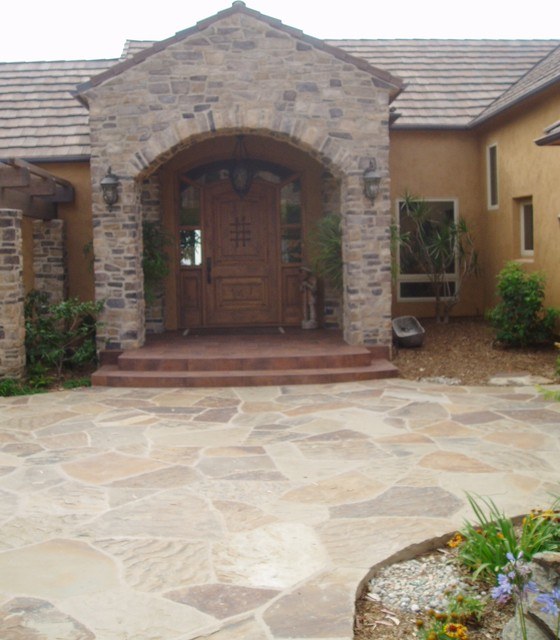 Design Build: Carlsbad Tuscan Colors mediterranean-exterior