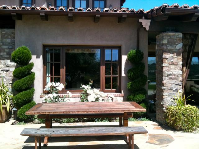 Design Build: Tuscan Olivenhain mediterranean-patio