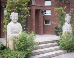 Design Projects - Forest Manor Hillside - Shanghai China - Green Antiques asian-exterior