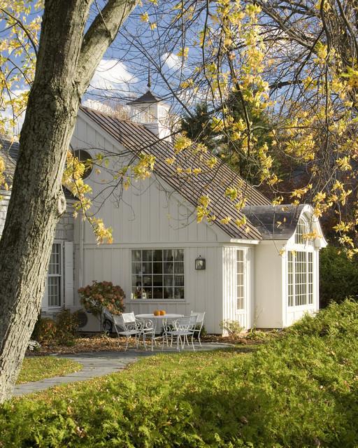 Designer Cottage - Rustic - Exterior - burlington - by ...