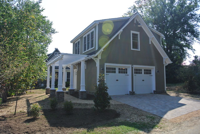 Beautiful Detached Garage With Apartment Craftsman Shed Design