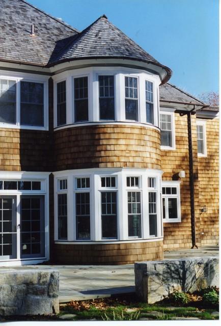 Shingle Style Home (Pound Ridge, NY) traditional-exterior