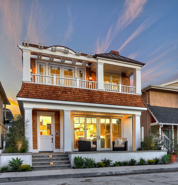 Diamond beach cottage traditional exterior orange for Architecture firms orange county