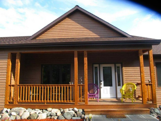 Diamond kote the new era of pre finished siding rustic exterior minneapolis by lindus for Diamond kote lp siding colors