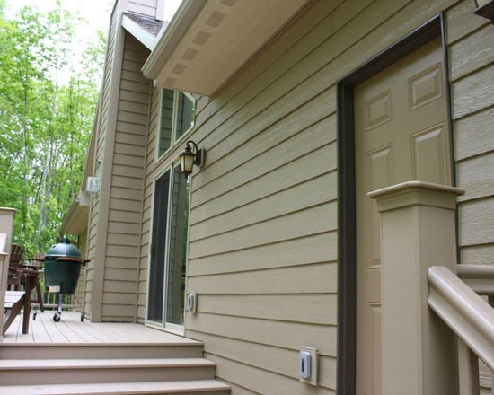 Small and mid sized lp smartside home design ideas for Lp smartside lap siding sizes