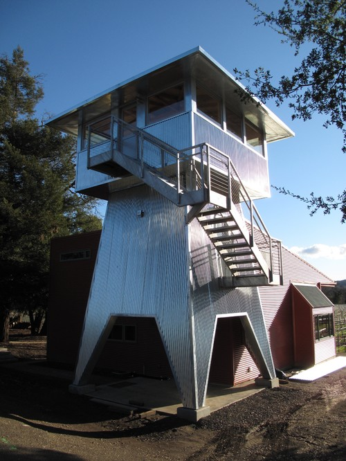 10 zombie proof homes in case the living dead show up on - What is a contemporary home ...