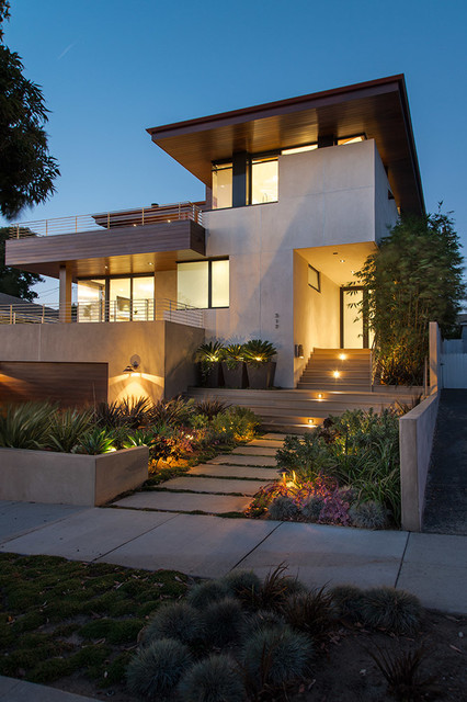 Dileva Residence Contemporary Exterior Los Angeles