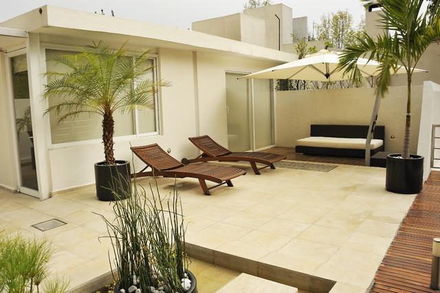 Diseño De Interiores Terraza Contemporary Exterior