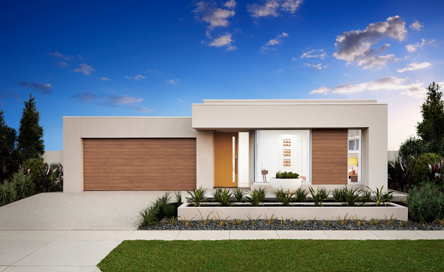 Display Home - Modern - Exterior - Melbourne - by ABN Group