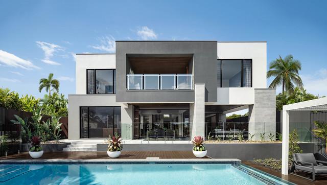 Display Home Riviera 65 Contemporary Exterior Gold