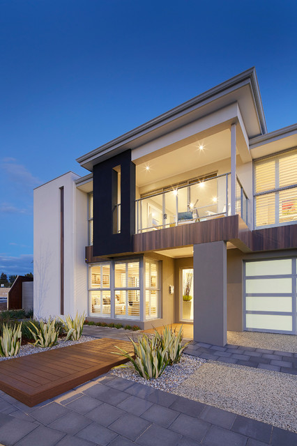 Display home the meridian contemporary exterior for Architecture firms perth