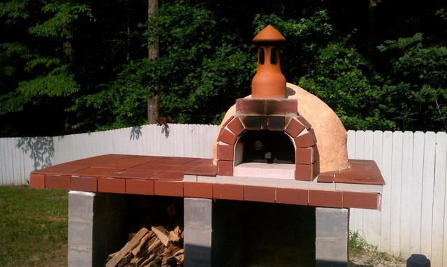 diy outdoor wood pizza oven from modular oven kit