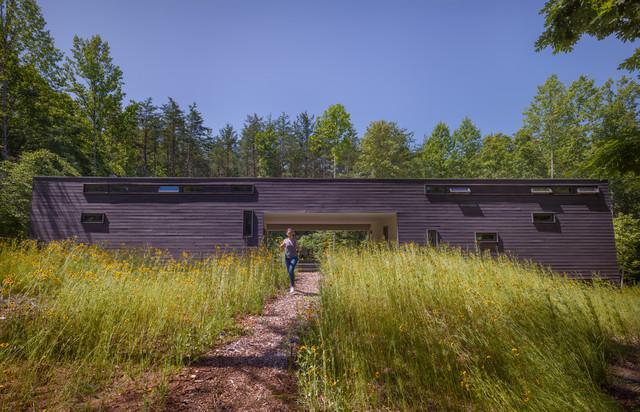 Dog rot House, harlottesville, V - Modern - xterior - ichmond ... - ^