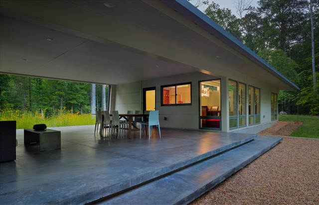 Modern dog trot house plans modern house for Modern dog house designs