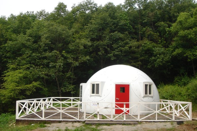 Domehouse exterior