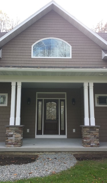 Doors craftsman exterior other metro by americoat painting llc - Exterior paint for doors gallery ...