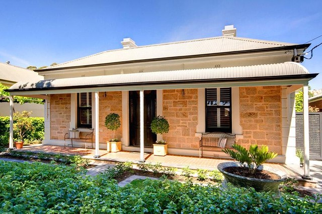 Double Fronted Victorian Sandstone Cottage Traditional Exterior