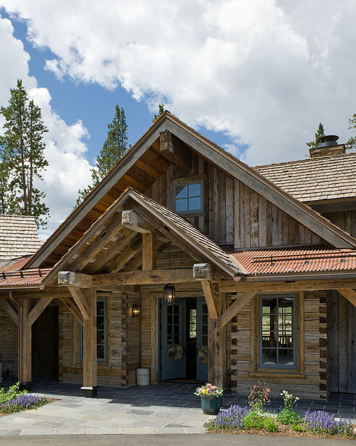 Dovetail Ranch house 1 - Traditional - Exterior - other ...