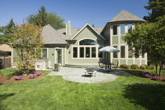 Downers Grove Residence craftsman-exterior