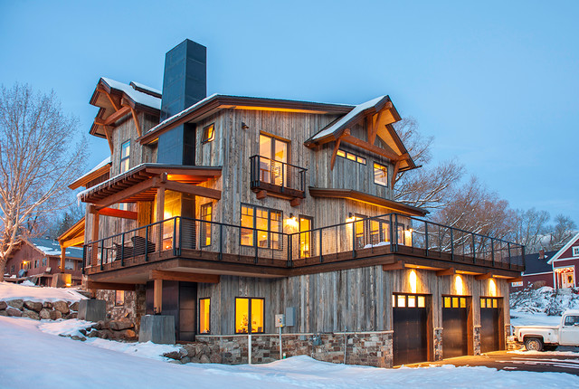 Downtown Steamboat Single Family Residence rustic-exterior