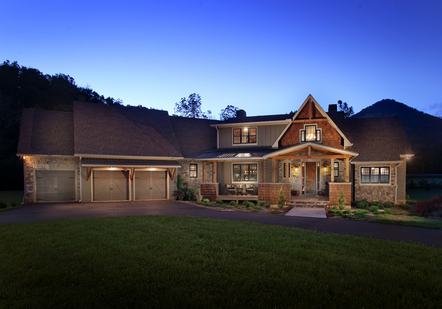 Dragonfly Lodge Traditional Exterior Atlanta By